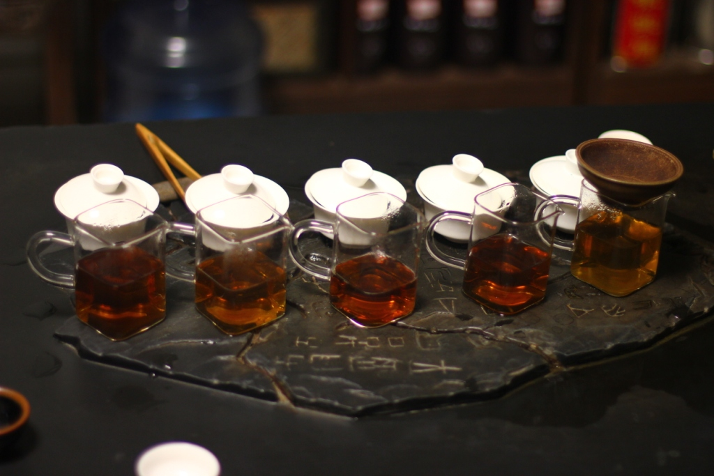 5 чаёв от компании Буюаньфу