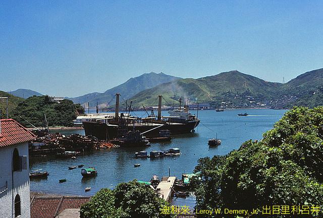 гонконг, китай, 1983, hongkong, china, Hang Hau (坑口)