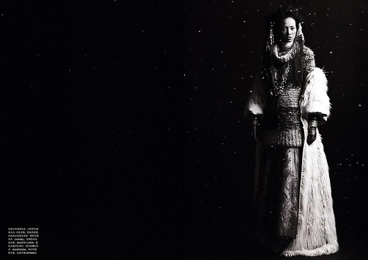 Grace Gao - Numéro China #3 November 2010 - 6