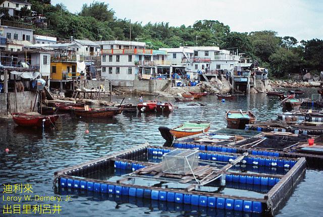 Tap Mun (塔門) village, гонконг, китай, 1983, hongkong, china