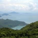 вид с пика Виктория острова Гонконг