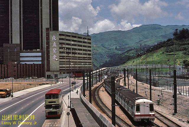 MTR train, гонконг, китай, 1983, hongkong, china