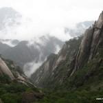 туманное утро в горах - оживший свиток