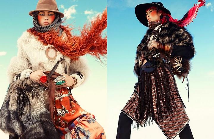 китайские модели, Liu Wen