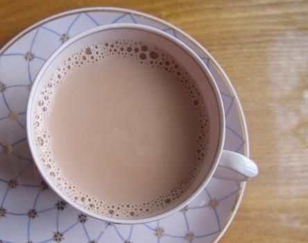 Чай, вареный на молоке, рецепт
