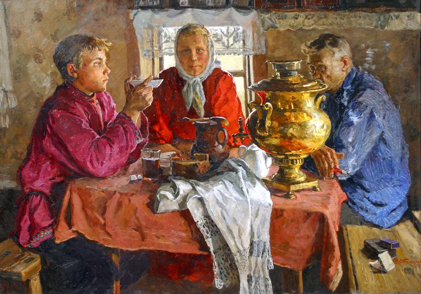 Проникновение чая в Россию. Чайная церемония.