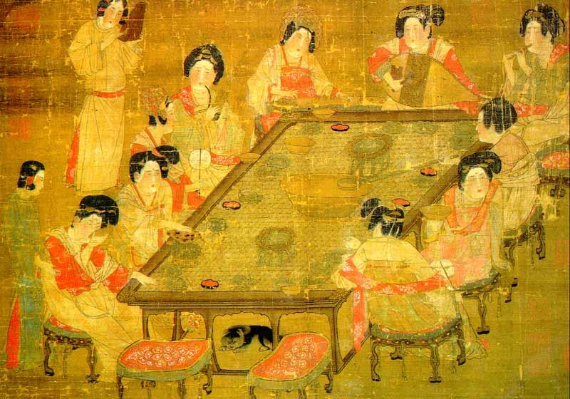 Музыка при императорском дворе Династии Тан