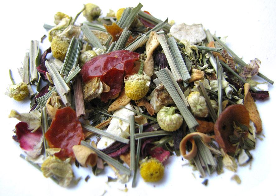 Травяной успокоительный чай