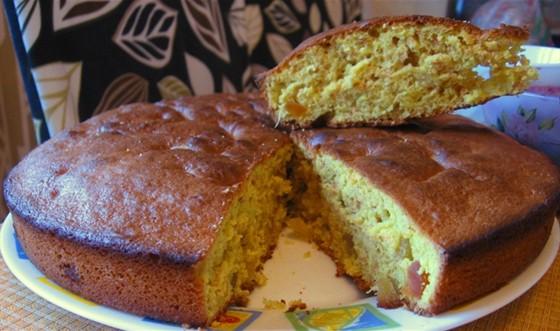 Пряный пирог с ройбушем
