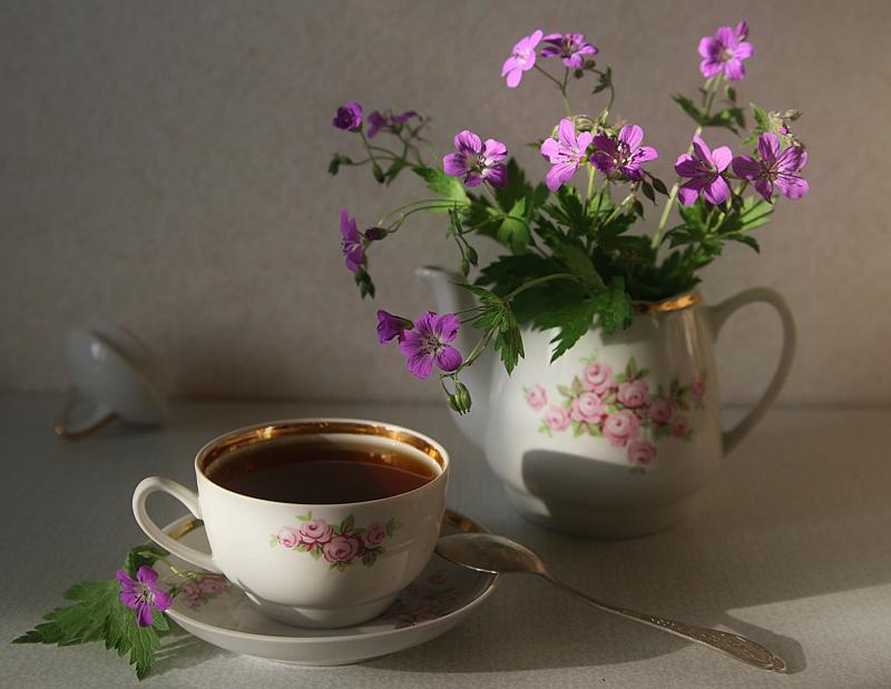 О таком полезном для здоровья чае  и чаепитии как искусстве