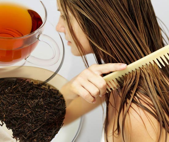 Как лечить и укреплять волосы с помощью чая