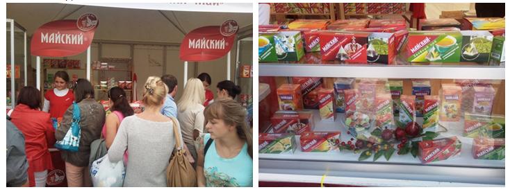 «Майский» и Санкт-Петербург отпраздновали Юбилей «любимого чая».