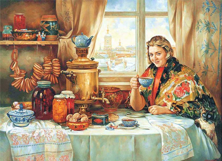 В Россию за чаем