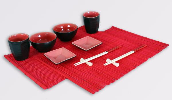 Посуда для чая и суши