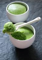 Мороженое из зеленого чая