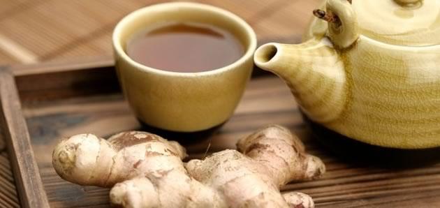 Рецепты целебного имбирного чая
