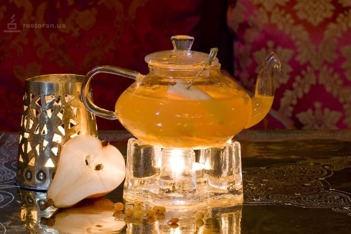 Ассортимент чая для меню ресторана или бара
