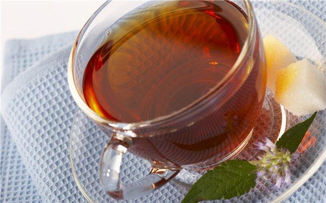 Чай с кофеином из Эквадора