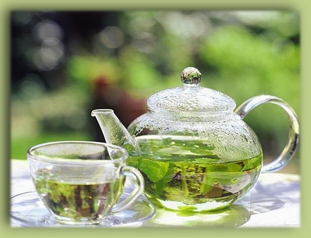 Боремся с компьютерным излучением с помощью зеленого чая