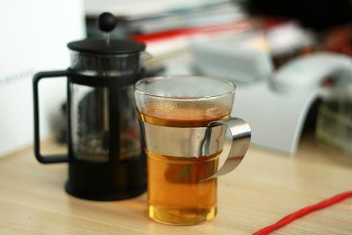 Роль чая в жизни компании