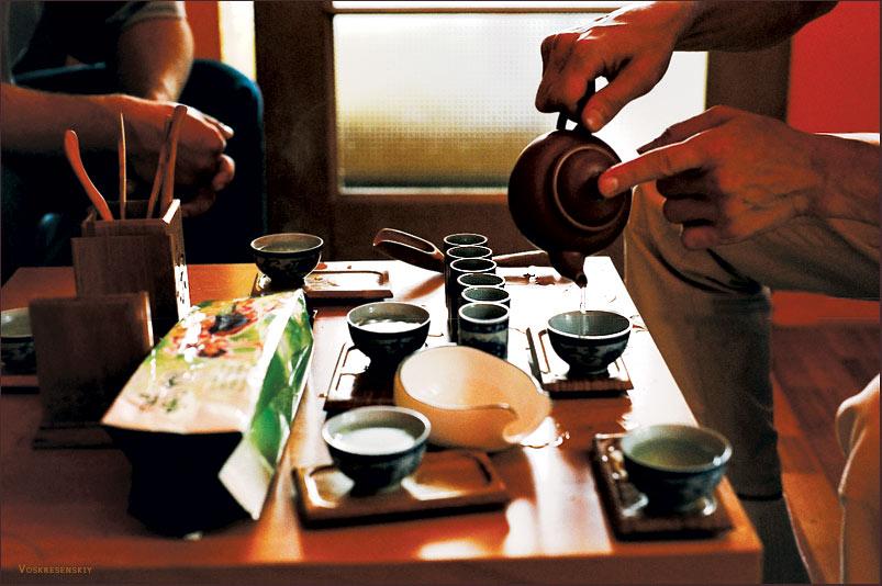 Чайная церемония гунфу ча, шаг за шагом — чай на природе