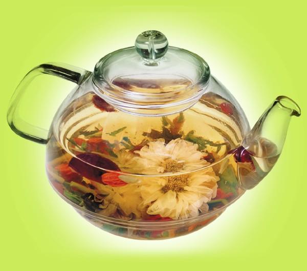 Чай способствует красоте