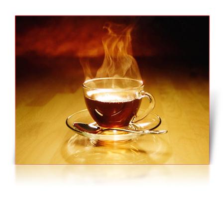 Распитие чая после еды