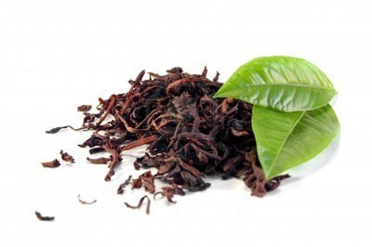 Черный чай сохраняет красоту