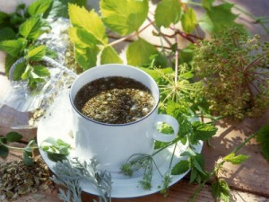 Польза травяного чая для фигуры и молодости