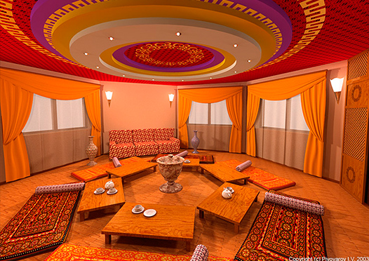 Комната для чайной церемонии