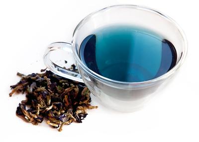 Таиландский синий чай