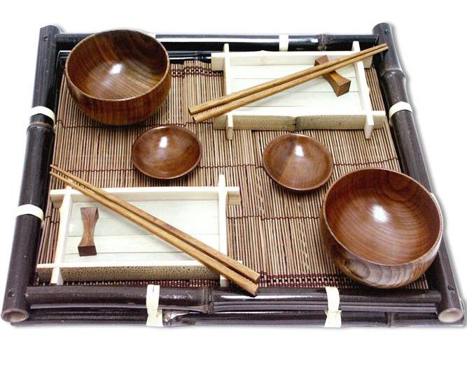 Наборы для суши и чая из Страны Восходящего Солнца
