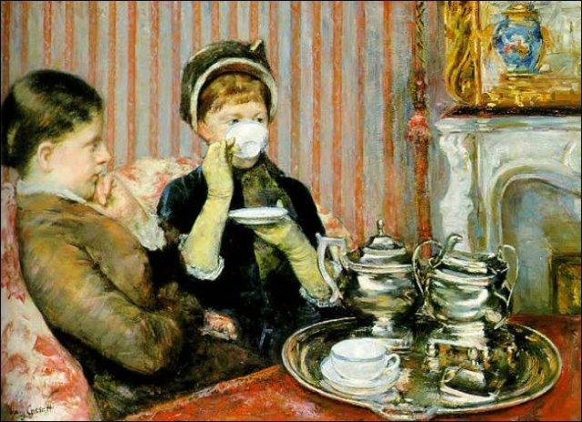 Чай во Франции