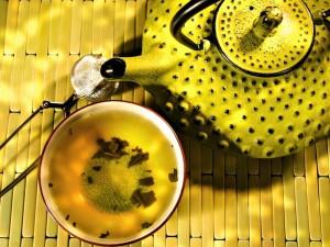 Зеленый чай дает силы в пожилом возрасте