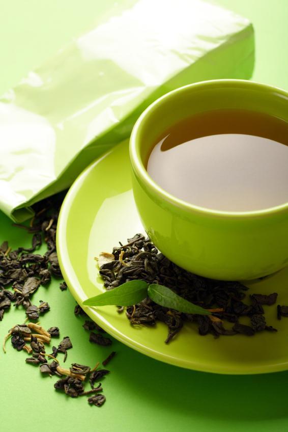 Зеленый чай препятствует набору лишнего веса