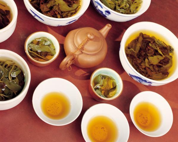 Самые популярные виды чая