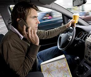 Влияние телефона на вождение автотранспорта