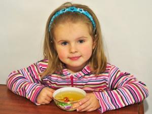 Чай успокоительный для детей