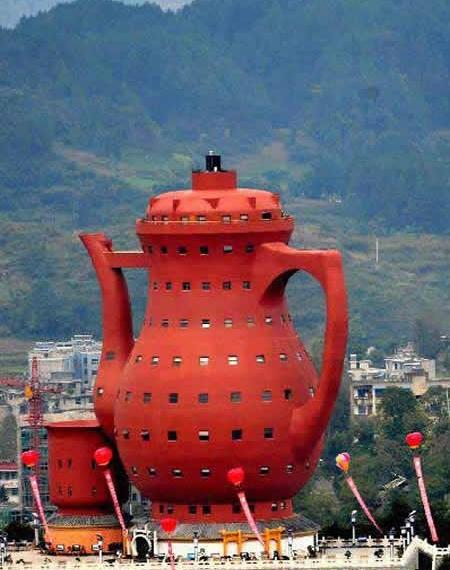 Необычный музей чайной культуры в Мэйтань
