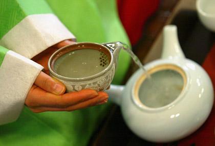 Зеленый чай лечит сердце и сосуды