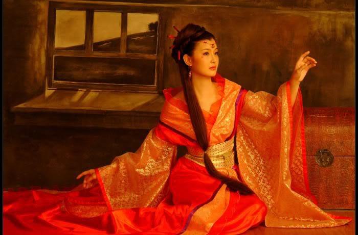 Этническая одежда из Китая