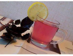 Очень полезный, вкусный холодный чай из базилика