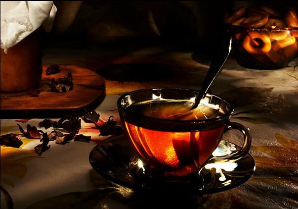 Неизвестный, Стих о чае