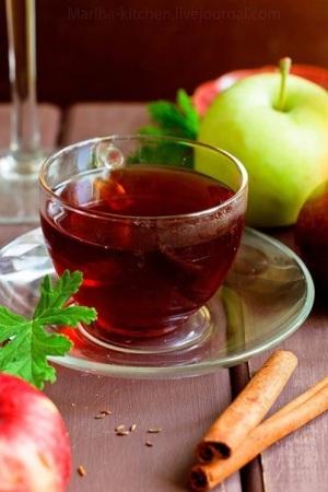 Рецепт фруктового чая с тмином