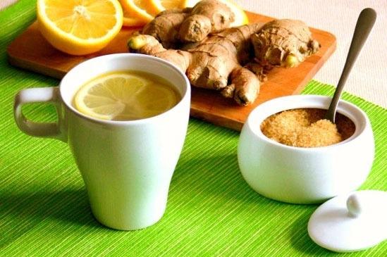 Имбирный чай от простуды, кашля и депрессии