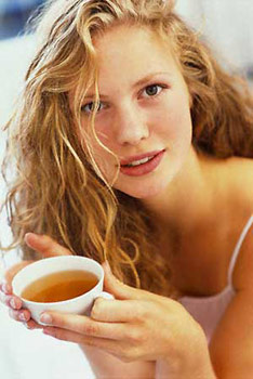 Маска для волос с чаем и водкой