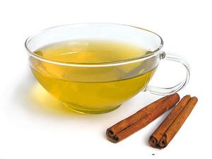 Зелёный чай с корицей и имбирём