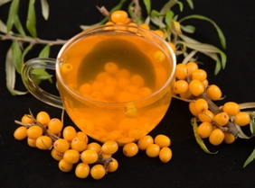 Облепиховый чай с мёдом
