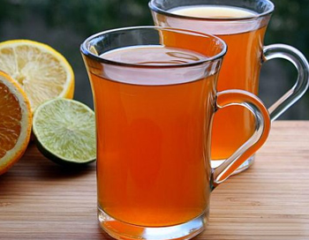 Чай с цедрой апельсина