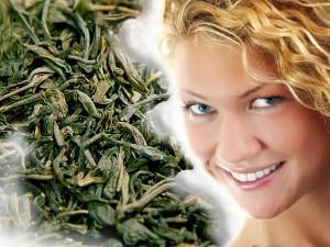 Уход за кожей с помощью зелёного чая